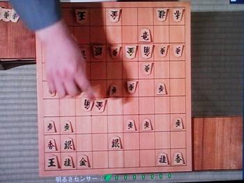 終盤、痛恨の7六角を指した瞬間。.JPG